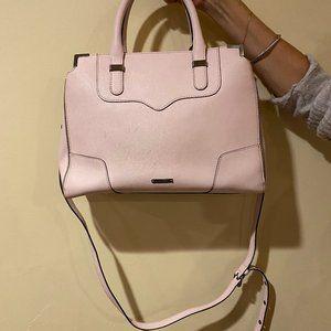 Pink Rebecca Minkoff Leather Satchel / Crossbody
